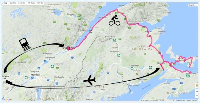 Bike trip to Prince Edward Island